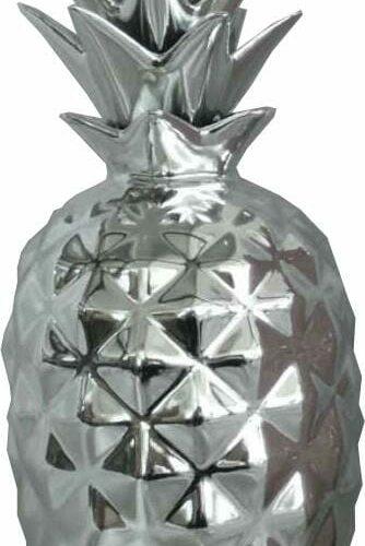 Ananas Keramiek verzilverd