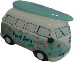 Spaarpot Mini-busje Groen