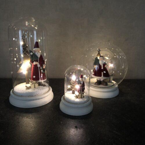 Kerstdecoratie met LED verlichting