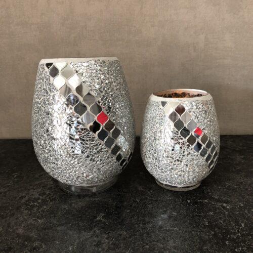 Set Mozaiëk Zilver