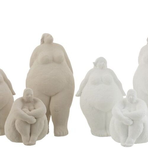 Figuren Personen Steen/Keramiek